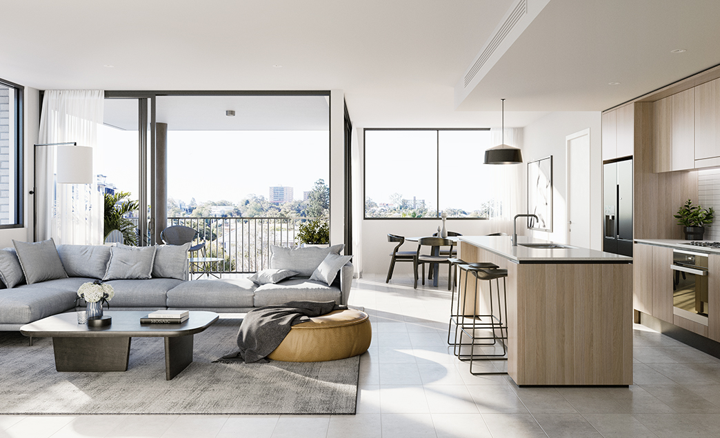Indooroopilly – The Henry – Only 10 units left now! Selling so fast!